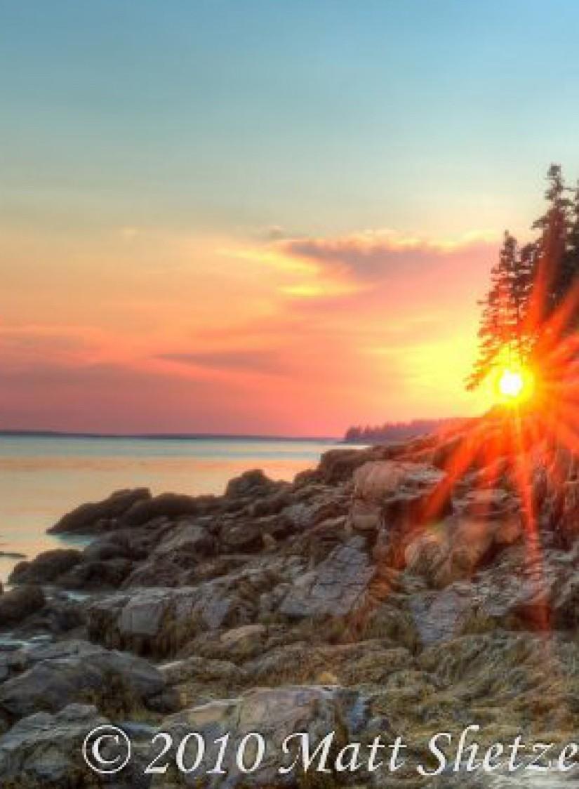 Maine pics: June vs. Oct.31st